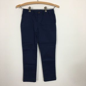 Girls Navy Blue Polo RL chinos size 8